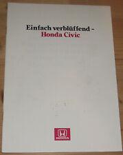 Prospekt Honda Civic 1984