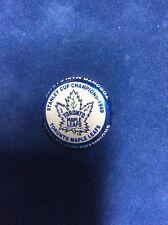 StanleyCupChamp Toronto MapleLeafs 1949 LimitedEdition NHL Labatts Beer Cap 2001