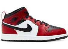Little Kid's Jordan 1 Mid Chicago Toe Black/Gym Red (640734 069)
