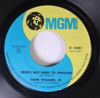 Country 45 Hank Williams, Jr. - Pride'S Not Hard To Swallow / Hamburger Steak, H
