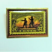 2004 Lewis and Clark Bicentennial 37 Cent US Postage Stamp Collectors Pin