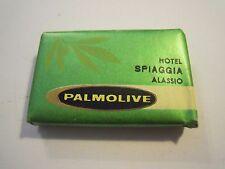 PALMOLIVE - SAPONETTA DA HOTEL SPIAGGIA ALASSIO - VINTAGE - 1970ca (GIO-6)