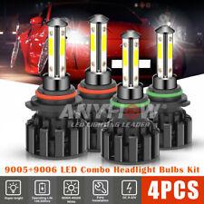 540w 90059006 Led Combo Headlight Kit Cree Cob High Amp Low Beam Light Bulbs 4sid
