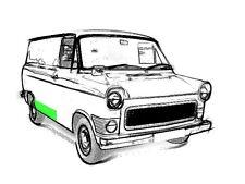Reparaturblech - Randstreifen rechts für Ford Transit MK I + II
