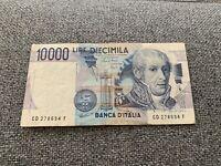 Banconota Italia 10.000 Lire A.Volta