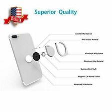 Black Ring Holder fingertip Spinner for Phone smartphone stand holder Grip Metal