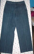 Coldwater Creek size 10 Denim Stretch Trousers Jeans 31.5x31.5