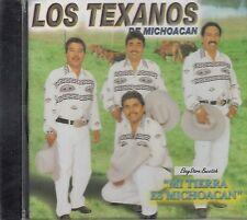 LOS TEXANOS DE MICHOACANO MI TIERRA ES MICHOACAN CD NEW SEALED
