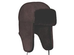 CLASSIC AVIATOR SHEEPSKIN HAT. Made in Australia. 100% Australian sheepskin.