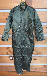 Vintage Fieldmaster Lined Green Coveralls: Hunting / Ski Suit Large 42-44
