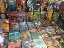 Science Fiction Fantasy Hardcover Book Lot - 15 Pounds - No Dupes Free Shipping