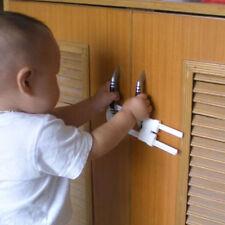 2pcs Baby Kids Child Toddler Safety Fridge Drawer Door Cabinet Cupboard Locks