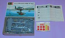 * 1977 * REVELL * NAKAJIMA MITSUBISHI A6M2N * COMPLETE UNMADE PLASTIC KIT *