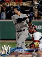 2018 Topps New York Yankees Baseball Team Singles (Pick Your Cards)