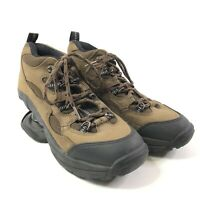 Womens Z Coil Hiking Boots Size 7 Black Brown Pain Relief Comfort Shoes