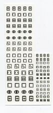Battletech miniatures Clan and IS Insignia decals- Access panels & Hatches