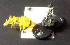 Heroclix War of light wave 1 Karu-sil & the pack SR super rare unused #37 w card
