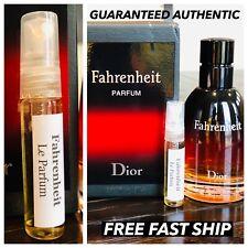 Dior Fahrenheit Le Parfum Sample 5ML