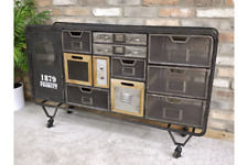 Industrial 12 Drawer Vintage Style Funky Quirky Cabinet Storage Unit Originality