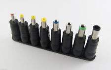 8in1/Set Power Jack Universal DC Socket 5.5 x 2.1mm To Plug Connector Converter