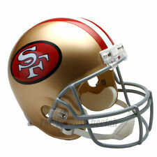 SAN FRANCISCO 49ERS 64-95 THROWBACK NFL FULL SIZE REPLICA FOOTBALL HELMET