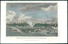 1798 Antique Print - BOAT WRECKS PORT DE FRANCAIS Alaska Lituya Bay Perouse (49)