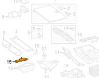 MB GLK X204 Interior Trunk Mat Right Liner A2046800097 NEW GENUINE