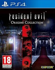 RESIDENT EVIL ORIGINS COLLECTION per Playstation 4 PS4 NUOVO