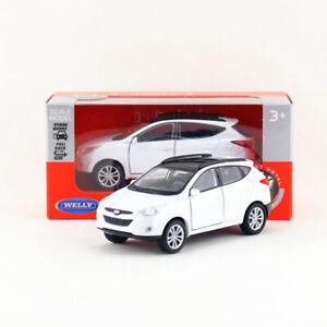 Hyundai Tucson IX35 SUV 1/36 Model Car Diecast Vehicle Toy Collection Gift White
