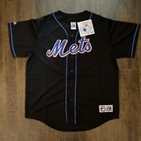 Pedro Martinez New York Mets Majestic Adult Jersey. Stitched! XLarge New Free SH