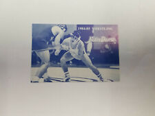 Notre Dame 1984/85 College Wrestling Pocket Schedule Card