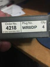 BOSCH PLATINUM SPARK PLUG 4218 in ORIGINAL BOX (1 set of 4 PLUGS) WR8DP