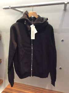 Rick Owens Drkshdw Mountain Hoodie Black Made In Italy RRP £ 480.00 Size S