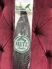 Umpqua Metz Premium Tying Feathers #2 Half Neck Grizzly Dry Fly Hackle New