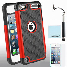 Hybrid Shockproof 2 Layers Case Cover For Apple iPod Touch 5th & 6th Generation