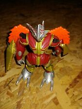 "Bandai Digimon 2002 Action Digi-Warrior BurningGreymon 5"" Figure LOOSE"