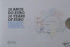 manueduc   PORTUGAL  2012  CARTERA   2 EUROS  PROOF  DECIMO ANIVERSARIO TYE