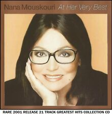 Nana Mouskouri - Very Best Greatest Hits Collection Easy Listening Greek Pop CD