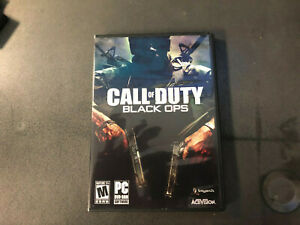 Call of Duty: Black Ops (PC, 2010) CIB RARE Tested!!!