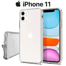 Funda Carcasa Gel Silicona Transparente con Antipolvo para iPhone 11