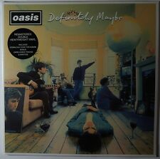 Oasis - definitely maybe 2LP/Download remastered 180g vinyl w bonus NEU/OVP
