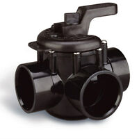 "Pentair 3-Way 2""-2-1/2"" PVC Plumbing Swimming Pool Spa Diverter Valve 263028"