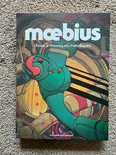 Moebius chaos & chroniques métalliques 2 hardcover book slipcase Humanoides Ass.