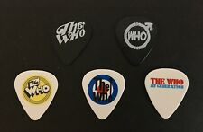 The Who Set of 5 Guitar Picks / Plectrums - Exclusive 2019 VIP Package Merch