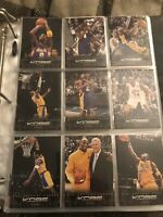 2012-13 Panini Kobe Bryant Anthology 9 card Lot  NM Condition