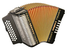 NEW Hohner 3500FB Corona II 3500 Button Accordion Black FBbEb Fa 31 Button SALE