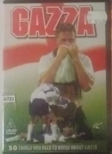 Gazza - 50 Things You Need To Know About Gazza DVD R0 all regions