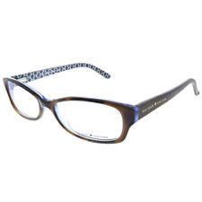 New Kate Spade Sheba JZM Tortoise Royal Blue Plastic Rectangle Eyeglasses 53mm