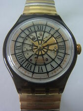 SAM102 Swatch - 1994 Automatic Marechal Gold Artistic Swiss Made Authentic