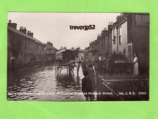 More details for orchard street norwich floods flooding 1912 horse & cart  rp pc j & s ref b78
